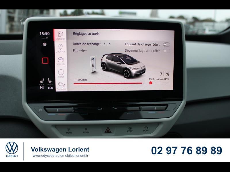 Photo 6 de l'offre de VOLKSWAGEN ID.3 204ch 1st Plus à 37990€ chez Odyssée Automobiles - Volkswagen Lorient