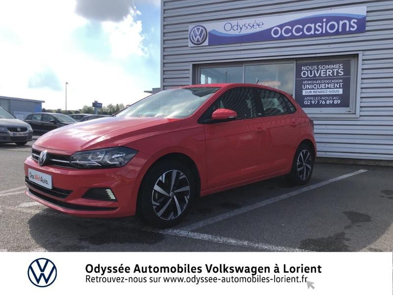 Volkswagen Polo 1.0 MPI 65ch Connect Essence ROUGE FLASH Occasion à vendre