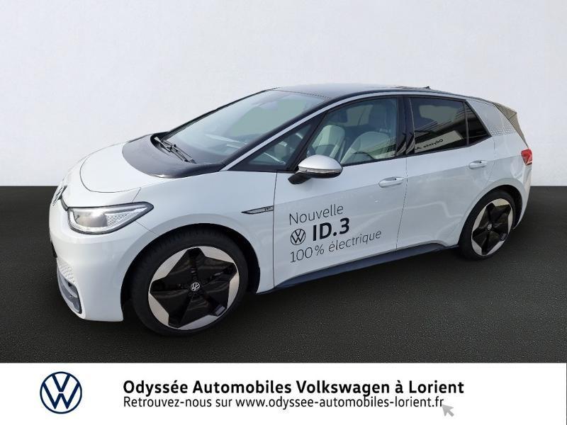 Volkswagen ID.4 204ch 1st Max Electrique Blanc Occasion à vendre