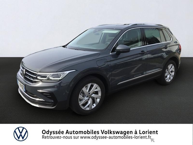 Volkswagen Tiguan 1.4 eHybrid 245ch Elegance DSG6 Hybride Gris Foncé Occasion à vendre