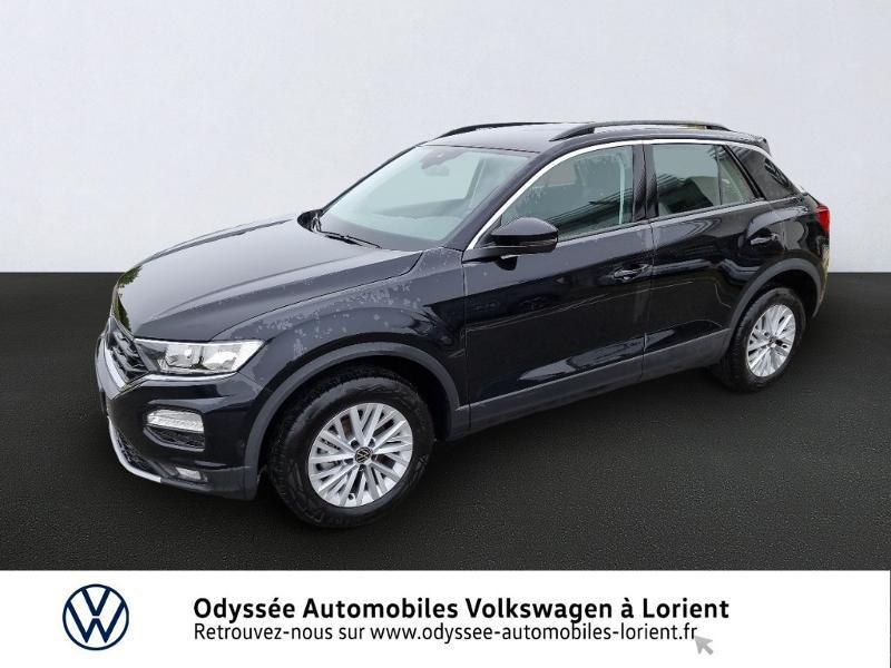 Volkswagen T-Roc 1.5 TSI EVO 150ch Lounge DSG7 Essence Noir Métal Occasion à vendre