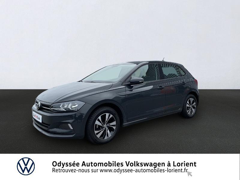 Volkswagen Polo 1.0 TSI 95ch Lounge Euro6d-T Essence GRIS URANO Occasion à vendre