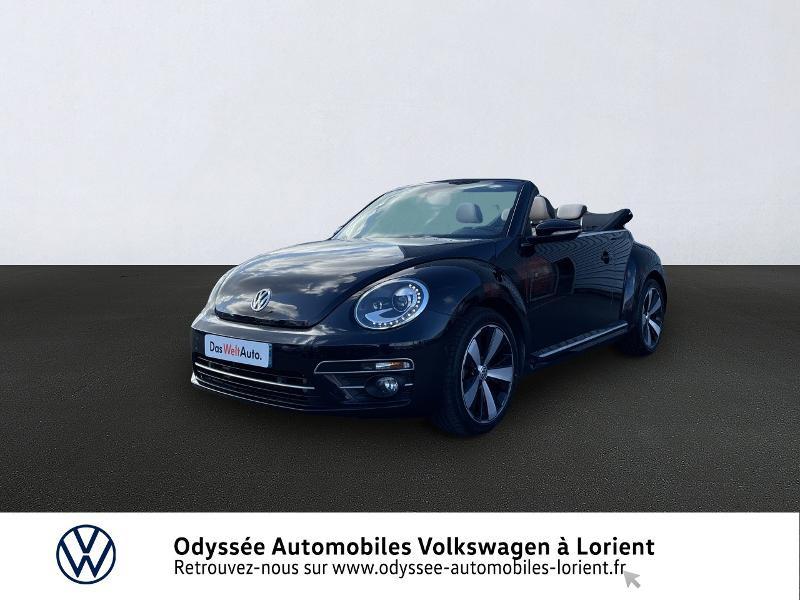 Volkswagen Coccinelle Cabriolet 1.2 TSI 105ch BlueMotion Technology Couture Exclusive DSG7 Essence NOIR INTENSE / CAPOTE NOIRE Occasion à vendre