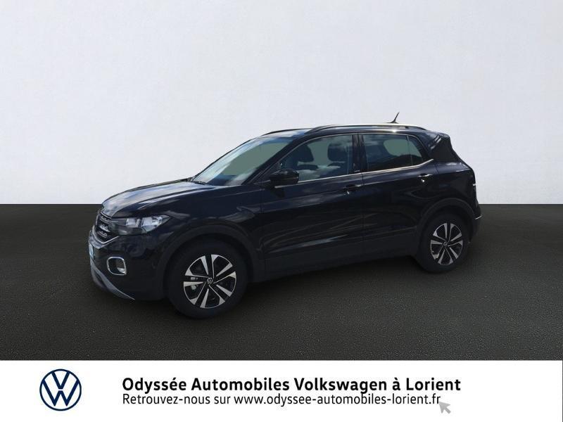 Volkswagen T-Cross 1.0 TSI 115ch United DSG7 Essence Noir Métal Occasion à vendre