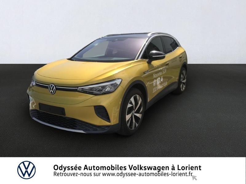 Volkswagen ID.4 204ch 1st Electrique JAUNE MONACO Occasion à vendre