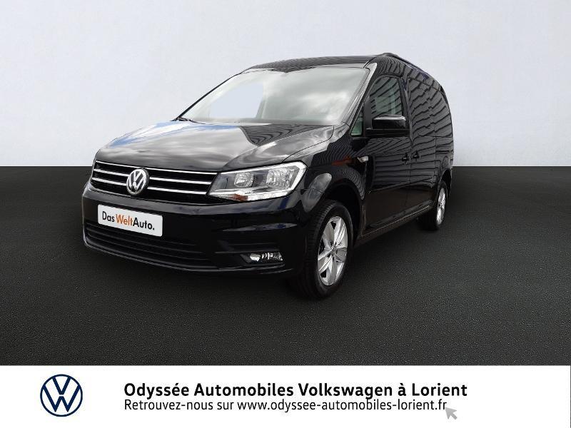Volkswagen Caddy Maxi 2.0 TDI 102ch Confortline Euro6d-T Diesel NOIR INTENSE METALLISE Occasion à vendre