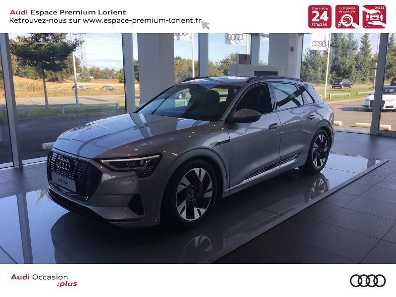 Audi e-tron 50 230ch Avus e-quattro Electrique ARGENT Occasion à vendre