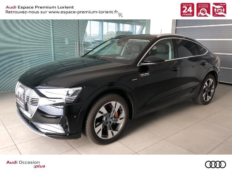 Audi e-tron Sportback 50 230ch Avus Extended e-quattro 12cv Electrique NOIR MYTHIC Occasion à vendre