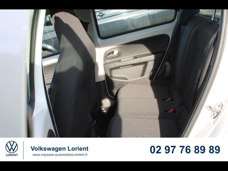 Photo 9 de l'offre de VOLKSWAGEN up! 1.0 60ch BlueMotion Technology IQ.Drive 5p Euro6d-T à 10990€ chez Odyssée Automobiles - Volkswagen Lorient