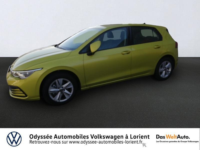Photo 1 de l'offre de VOLKSWAGEN Golf 1.5 TSI ACT OPF 130ch Life 1st 121g à 22840€ chez Odyssée Automobiles - Volkswagen Lorient