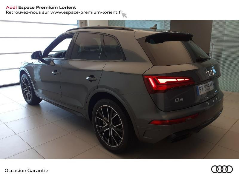 Photo 4 de l'offre de AUDI Q5 35 TDI 163ch S line S tronic 7 à 59990€ chez Odyssée Automobiles - Volkswagen Lorient
