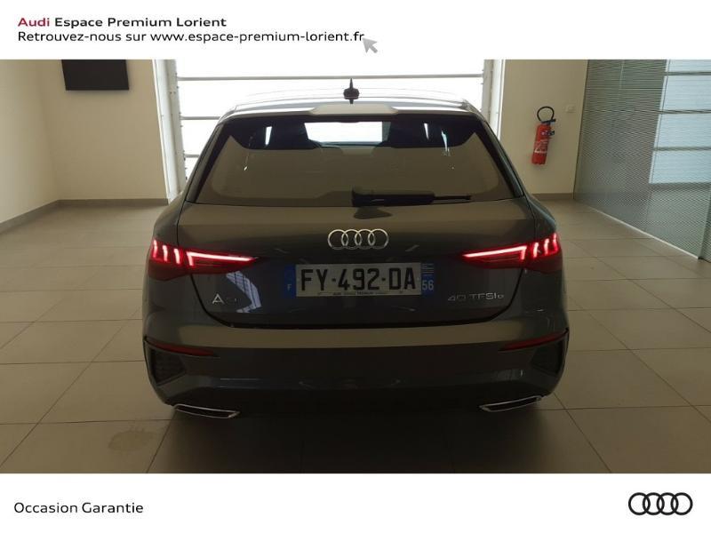 Photo 5 de l'offre de AUDI A3 Sportback 40 TFSI e 204ch S line S tronic 6 à 45490€ chez Odyssée Automobiles - Volkswagen Lorient