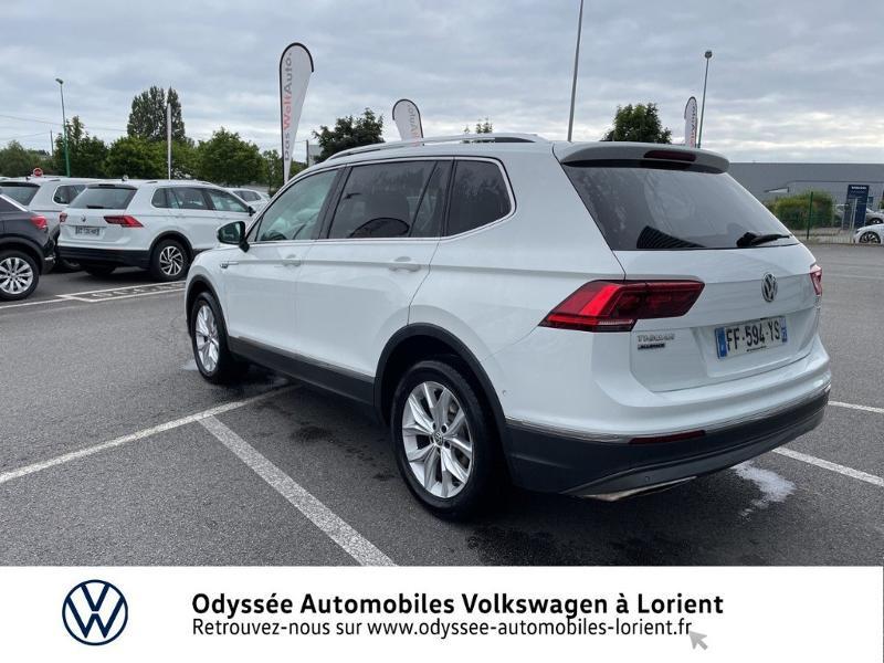 Photo 3 de l'offre de VOLKSWAGEN Tiguan Allspace 2.0 TDI 150ch Carat DSG7 Euro6d-T à 34890€ chez Odyssée Automobiles - Volkswagen Lorient