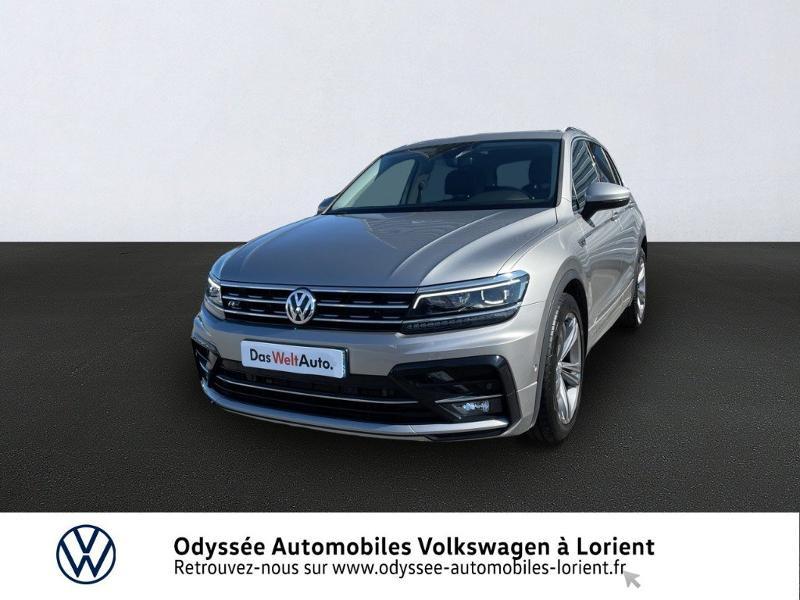 Volkswagen Tiguan 2.0 TDI 150ch Carat Exclusive Diesel GRIS TUNGSTENE METAL Occasion à vendre