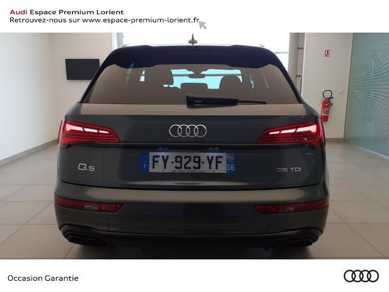 Photo 5 de l'offre de AUDI Q5 35 TDI 163ch S line S tronic 7 à 59990€ chez Odyssée Automobiles - Volkswagen Lorient