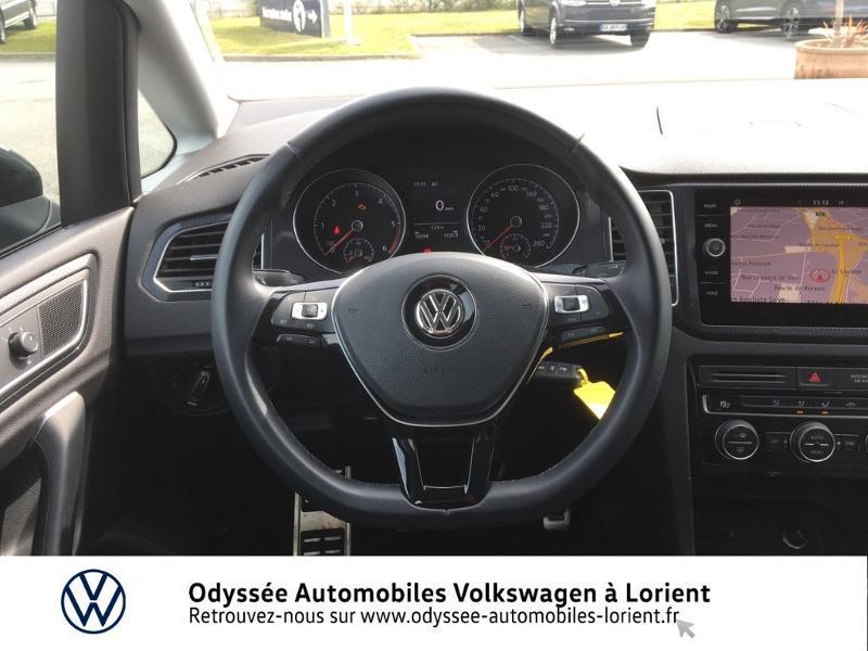 Photo 7 de l'offre de VOLKSWAGEN Golf Sportsvan 1.6 TDI 115ch BlueMotion Technology FAP United Euro6d-T à 24990€ chez Odyssée Automobiles - Volkswagen Lorient