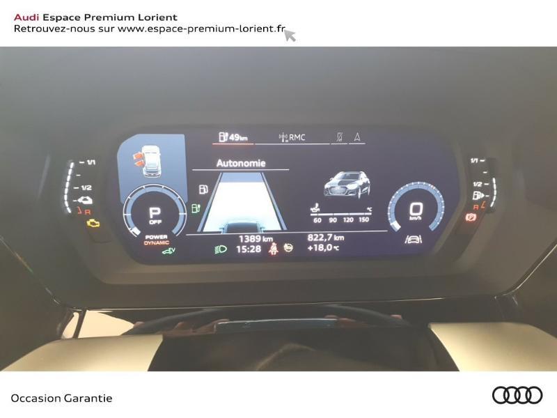 Photo 10 de l'offre de AUDI A3 Sportback 40 TFSI e 204ch S line S tronic 6 à 45490€ chez Odyssée Automobiles - Volkswagen Lorient