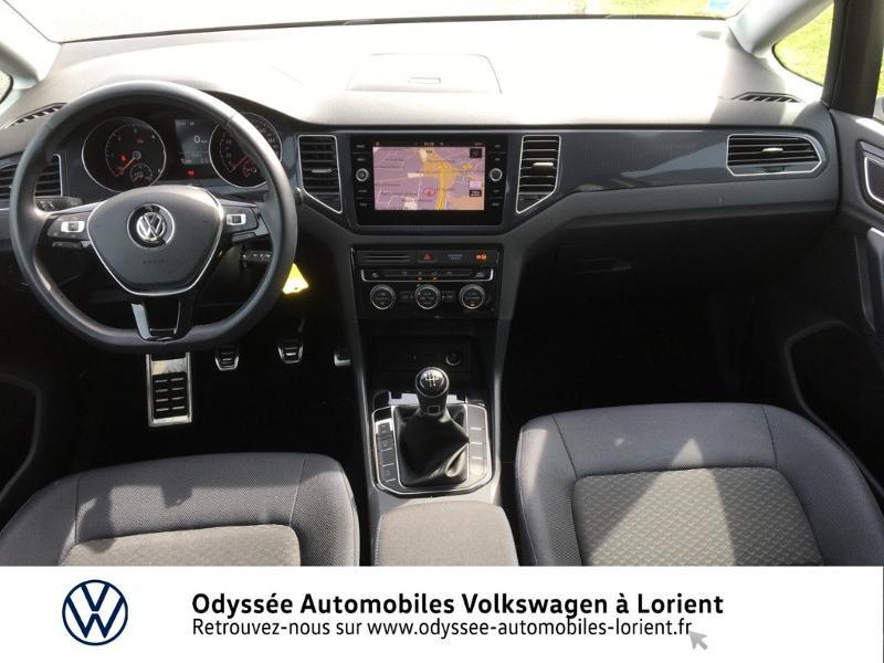 Photo 6 de l'offre de VOLKSWAGEN Golf Sportsvan 1.6 TDI 115ch BlueMotion Technology FAP United Euro6d-T à 24990€ chez Odyssée Automobiles - Volkswagen Lorient