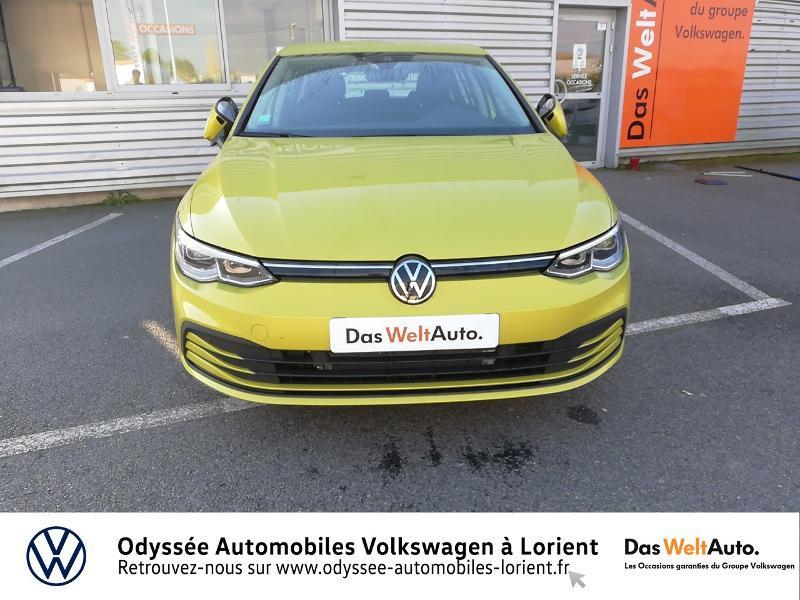 Photo 5 de l'offre de VOLKSWAGEN Golf 1.5 TSI ACT OPF 130ch Life 1st 121g à 22840€ chez Odyssée Automobiles - Volkswagen Lorient