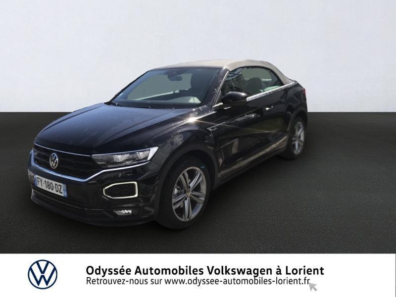 Volkswagen T-Roc Cabriolet 1.5 TSI EVO 150ch R-Line DSG7 Essence Noir Métal Occasion à vendre