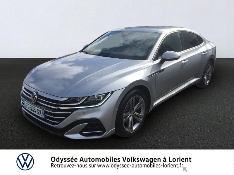 Photo 1 de l'offre de VOLKSWAGEN Arteon 2.0 TDI 150ch BlueMotion Technology R-line DSG7 à 39999€ chez Odyssée Automobiles - Volkswagen Lorient