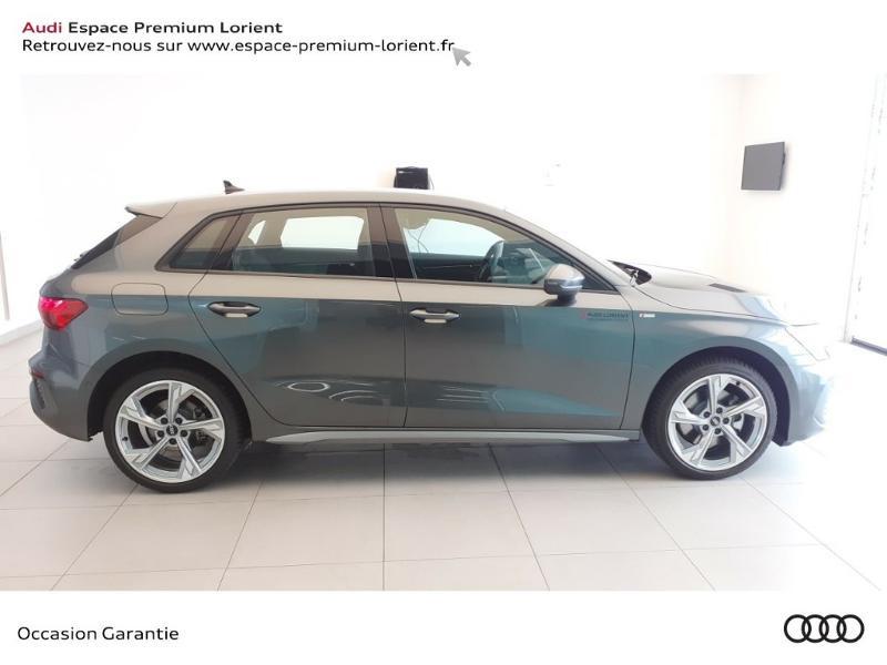 Photo 3 de l'offre de AUDI A3 Sportback 40 TFSI e 204ch S line S tronic 6 à 45490€ chez Odyssée Automobiles - Volkswagen Lorient