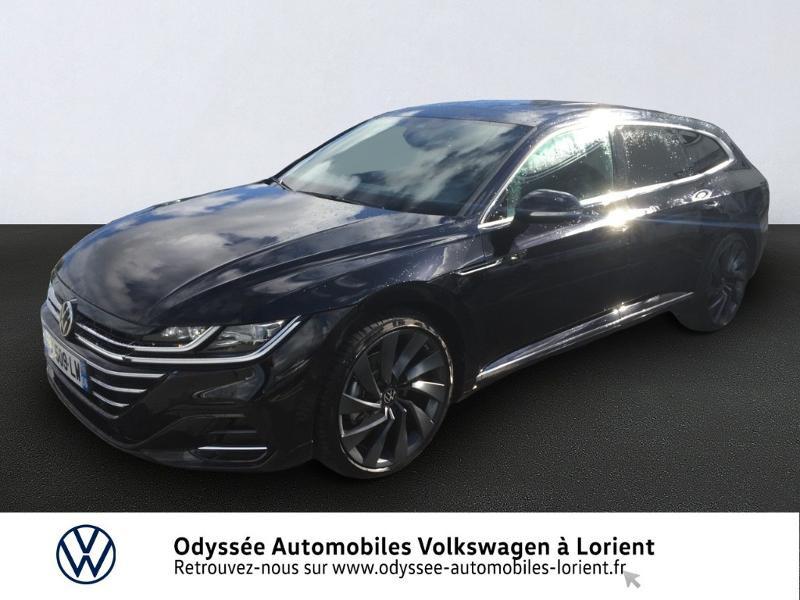 Volkswagen Arteon ShootingBrake 2.0 TDI EVO 150ch R-Line DSG7 Diesel Noir Métal Occasion à vendre
