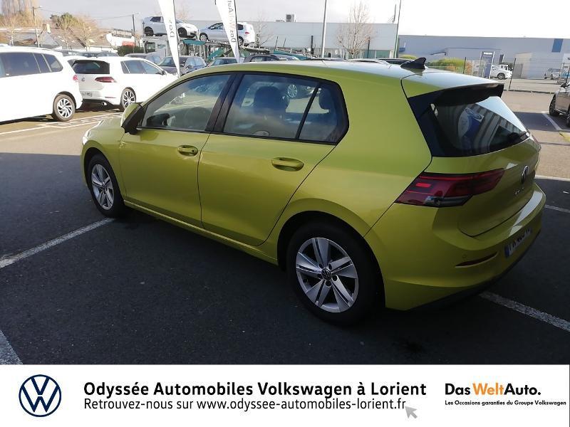 Photo 3 de l'offre de VOLKSWAGEN Golf 1.5 TSI ACT OPF 130ch Life 1st 121g à 22840€ chez Odyssée Automobiles - Volkswagen Lorient