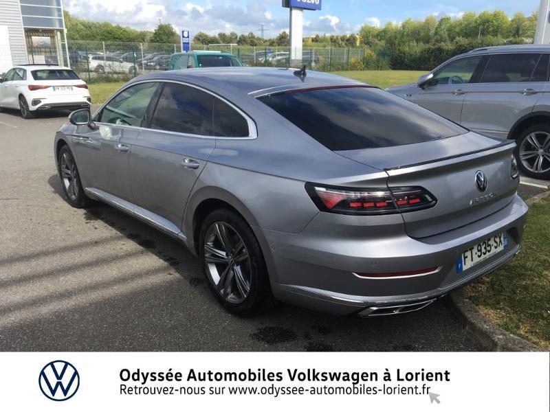 Photo 3 de l'offre de VOLKSWAGEN Arteon 2.0 TDI 150ch BlueMotion Technology R-line DSG7 à 39999€ chez Odyssée Automobiles - Volkswagen Lorient