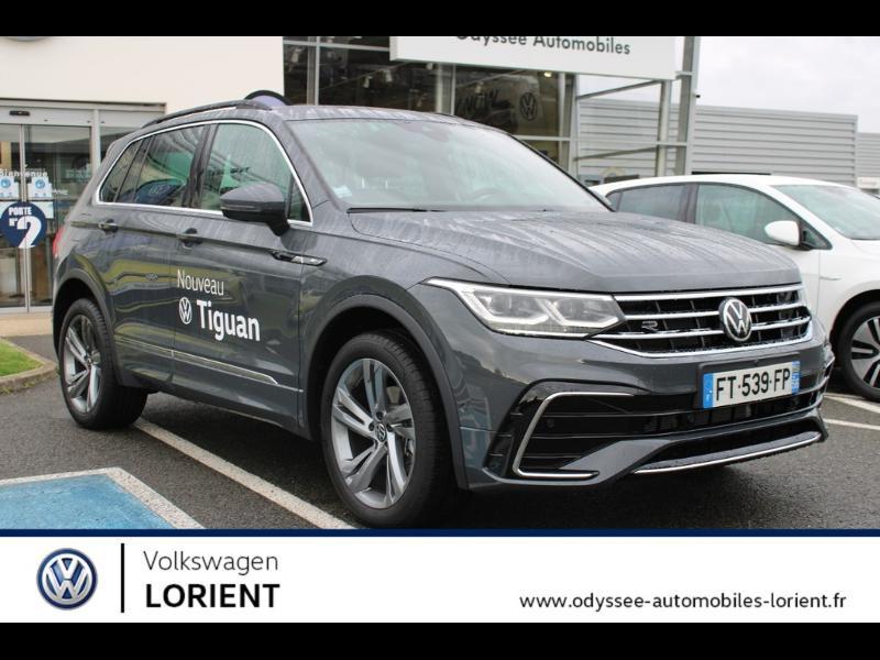 Volkswagen Tiguan 2.0 TDI 150ch Black R-Line 4Motion DSG7 Euro6d-T Diesel GRIS DAUPHIN METAL Occasion à vendre