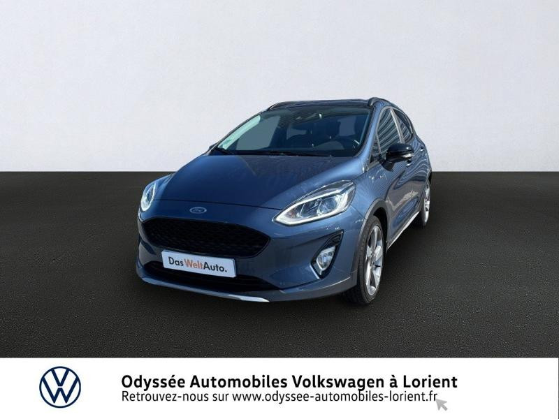 Ford Fiesta Active 1.0 EcoBoost 100ch S&S Pack Euro6.2 Essence Bleu Occasion à vendre