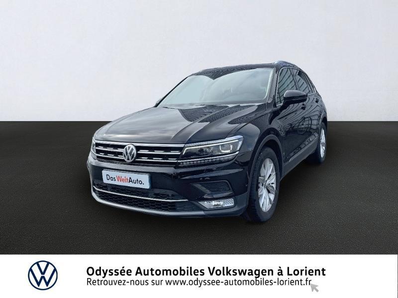 Volkswagen Tiguan 2.0 TDI 150ch Carat DSG7 Diesel NOIR INTENSE NACRE Occasion à vendre