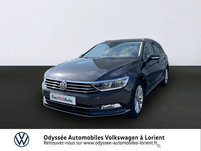 Volkswagen Passat SW 2.0 TDI 150ch BlueMotion Technology Carat DSG7 Diesel GRIS MANGANESE METALLISE Occasion à vendre
