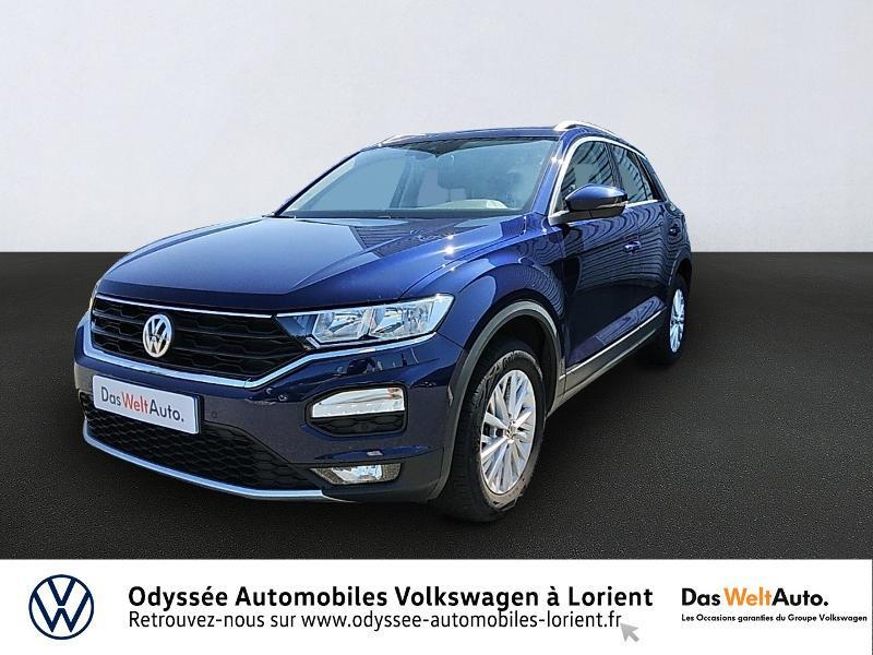 Volkswagen T-Roc 1.6 TDI 115ch Lounge Business Euro6d-T Diesel BLEU ATLANTIQUE METALLISE Occasion à vendre
