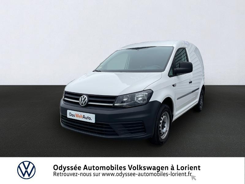 Volkswagen Caddy Van 2.0 TDI 75ch Van Diesel BLANC CANDY Occasion à vendre
