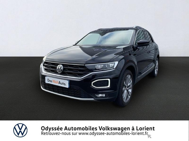 Volkswagen T-Roc 1.5 TSI EVO 150ch Carat Exclusive DSG7 Euro6d-T Essence NOIR INTENSE METALLISE Occasion à vendre