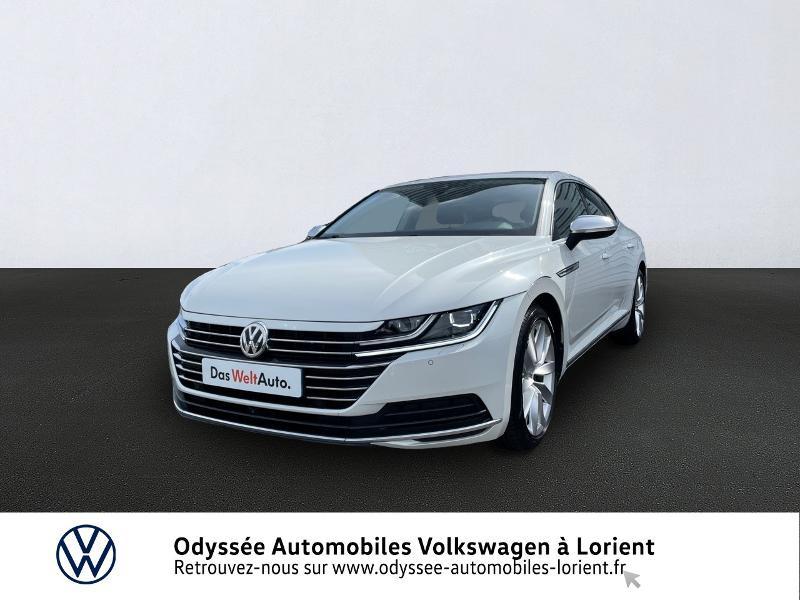 Volkswagen Arteon 2.0 TDI 150ch BlueMotion Technology Elegance DSG7 Diesel BLANC ORYX NACRE Occasion à vendre