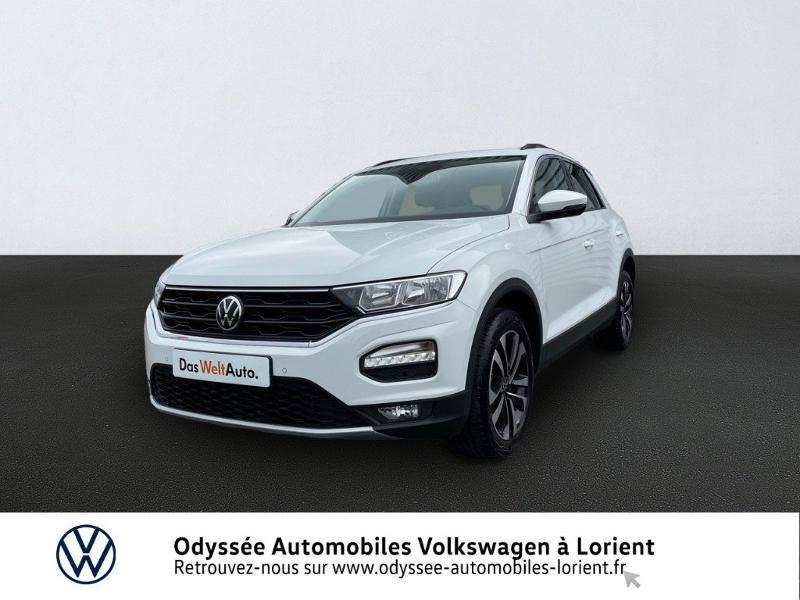 Volkswagen T-Roc 1.0 TSI 110ch United Essence BLANC PUR Occasion à vendre