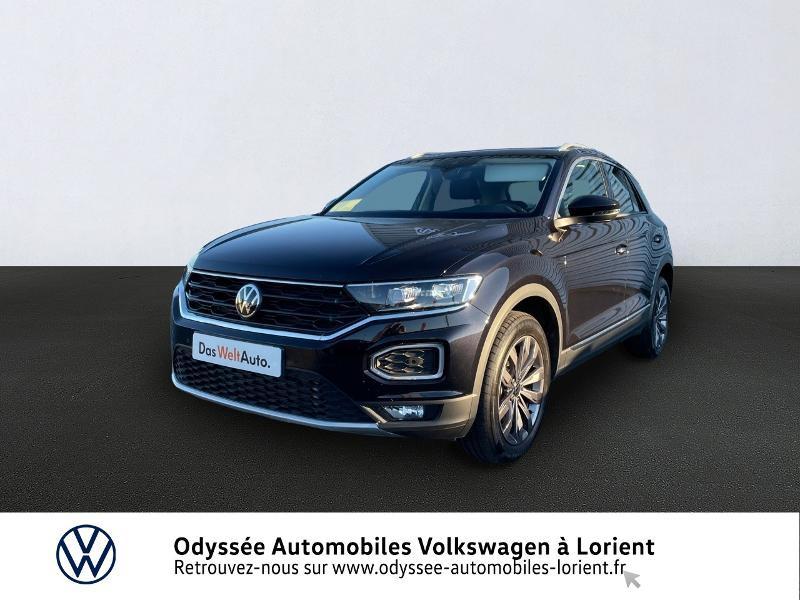 Volkswagen T-Roc 2.0 TDI 150ch Carat DSG7 145g Diesel NOIR INTENSE METALLISE Occasion à vendre
