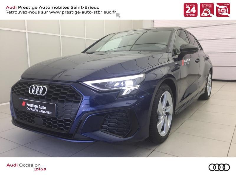 Audi A3 Sportback 35 TFSI 150ch S line Essence BLEU NAVARRE Occasion à vendre