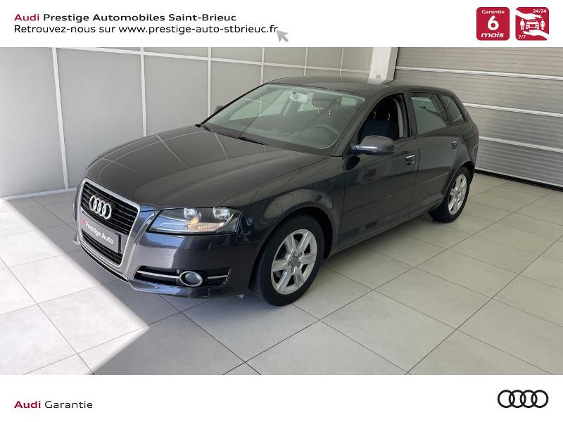 Audi A3 Sportback 1.6 TDI 105ch DPF Start/Stop Business line Diesel GRIS VOLCAN Occasion à vendre