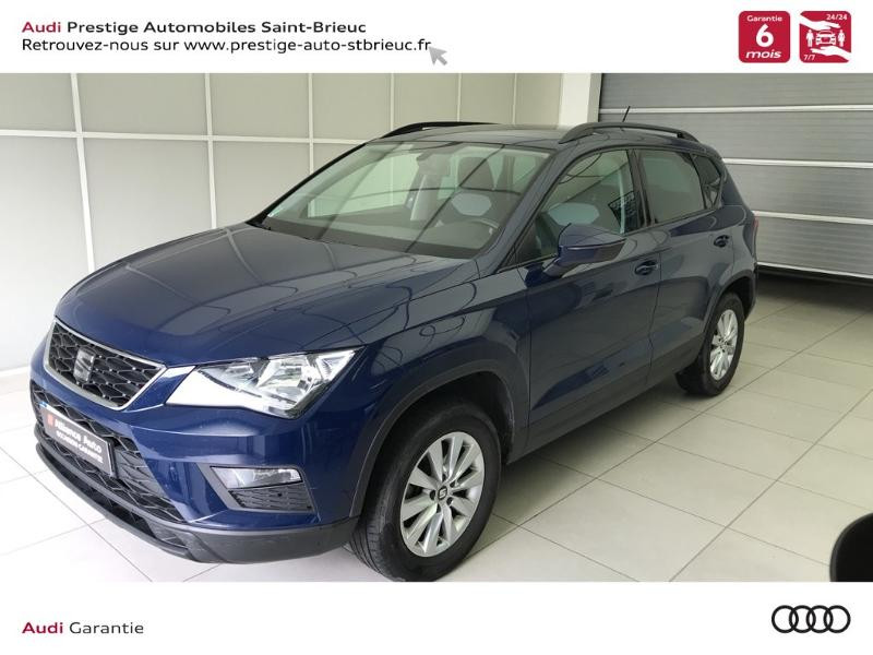 Seat Ateca 1.6 TDI 115ch Start&Stop Reference Ecomotive Diesel bleu Occasion à vendre