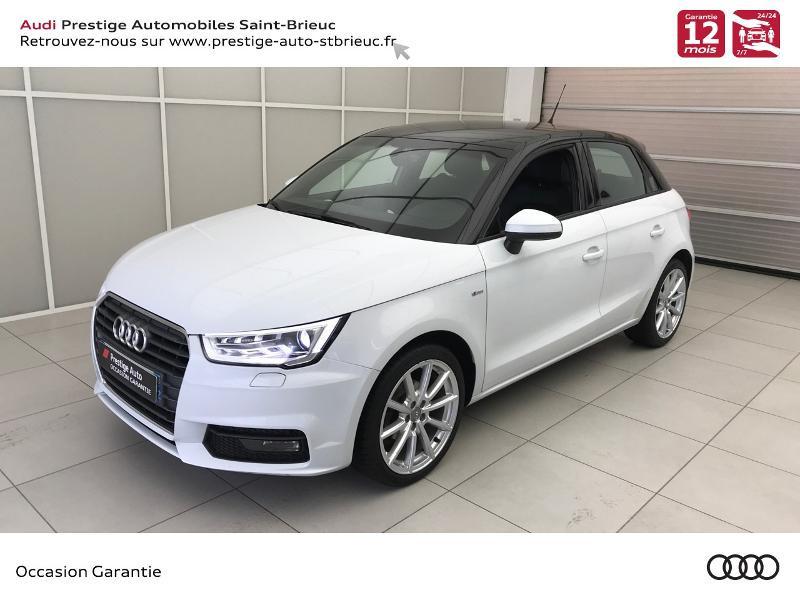 Audi A1 Sportback 1.4 TDI 90ch ultra S line Diesel blanc glacier Occasion à vendre