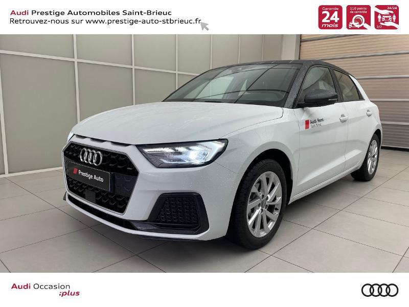 Audi A1 Sportback 25 TFSI 95ch Design Essence blanc/gris Occasion à vendre