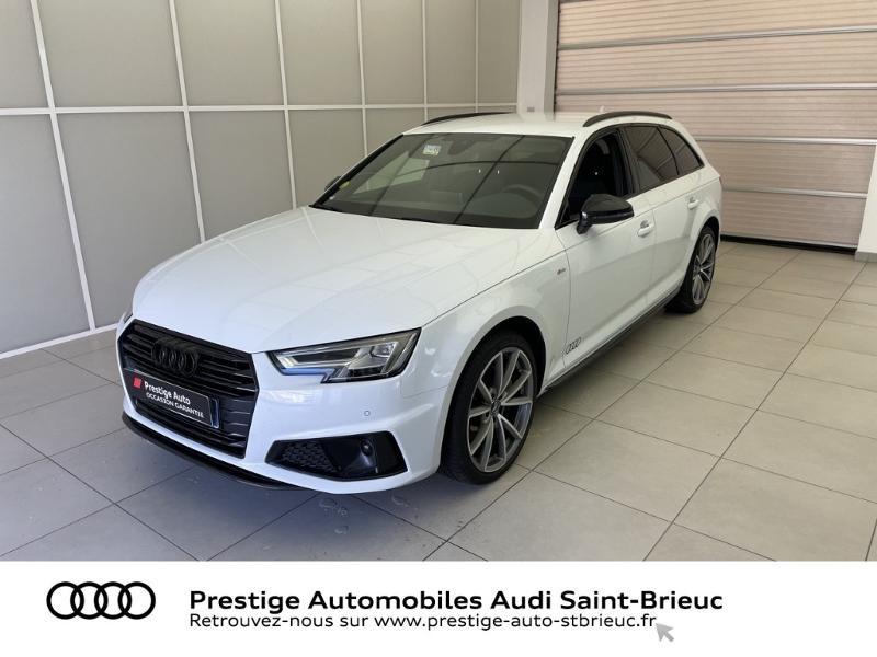 Audi A4 Avant 2.0 TDI 190ch S line S tronic 7 Diesel BLANC GLACIER METAL Occasion à vendre