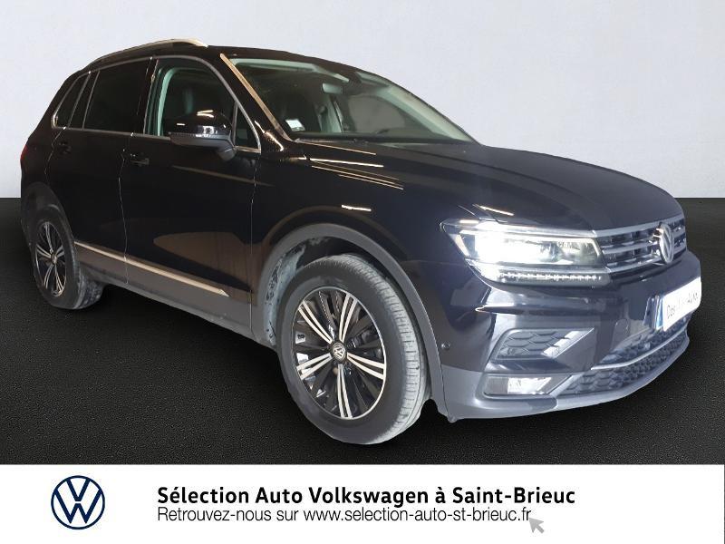 Volkswagen Tiguan 2.0 TDI 150ch Carat Exclusive 4Motion Diesel NOIR INTENSE Occasion à vendre