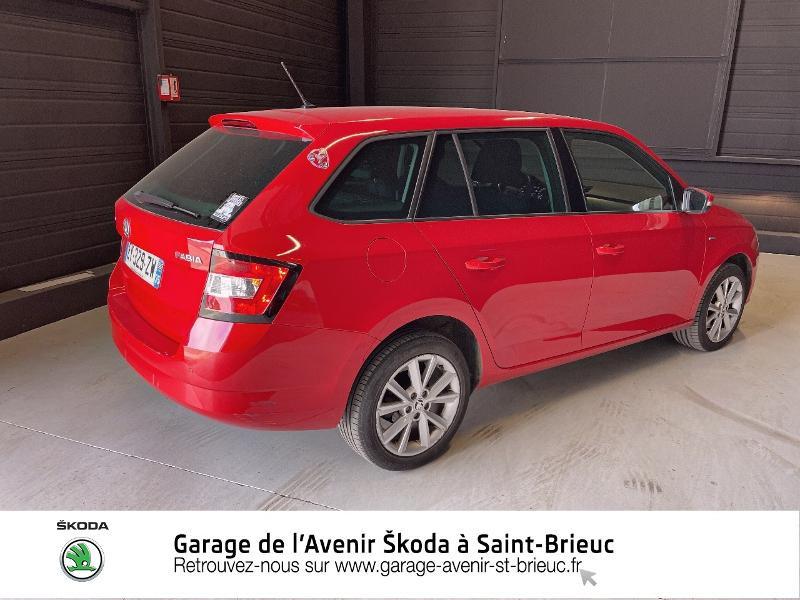Photo 3 de l'offre de SKODA Fabia Break 1.0 TSI 110ch Clever DSG7 à 11890€ chez Prestige Automobiles – Audi St Brieuc