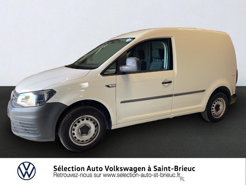 Volkswagen Caddy Van 2.0 TDI 75ch Business Line Diesel BLANC CANDY Occasion à vendre