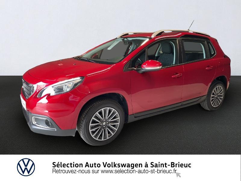Peugeot 2008 1.2 PureTech 82ch Active Essence Rouge Occasion à vendre