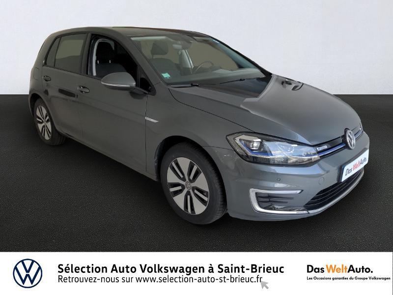 Volkswagen e-Golf 136ch 4cv Electrique gris indium Occasion à vendre